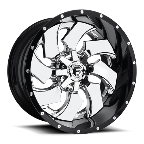 Fuel D240 Cleaver 20x12 Two Piece Wheel