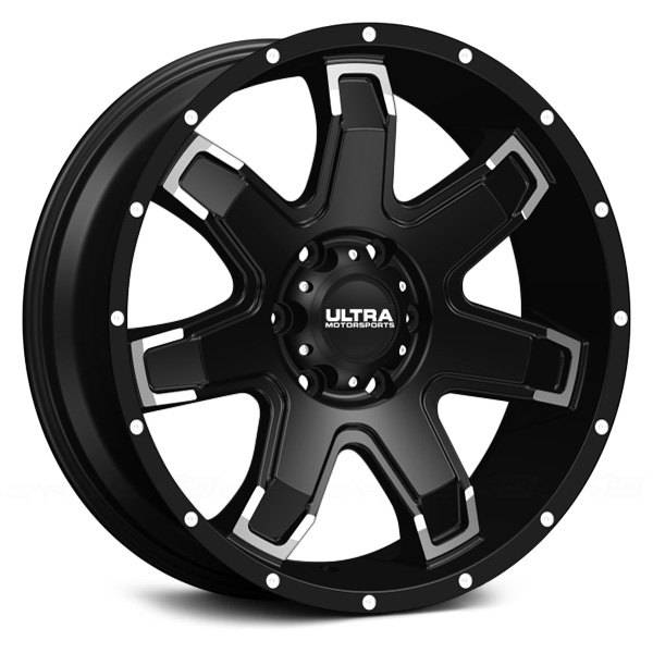 Ultra 209 8965bk10 209bk Bent 7 18x9 Black