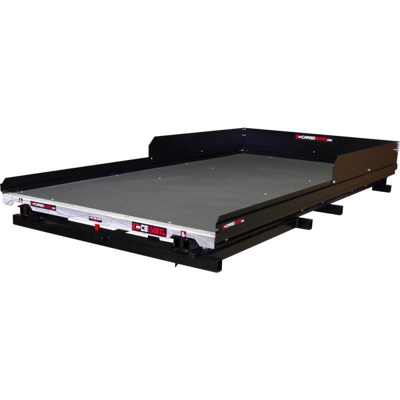 CargoGlide CG1500XL-7548 Extension Slide Out Truck Bed Tray 1500 lb Capacity