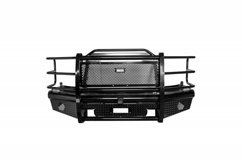 Big Country Truck Accessories Heavy Duty Front Bumper 15424T  H&H Truck Accessories, Birmingham, AL