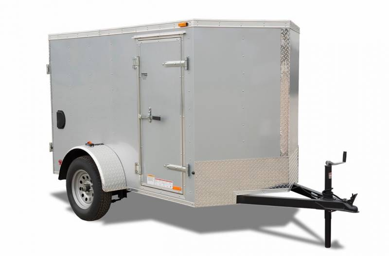 Cargo Trailer Accessories >> Forest River 5x8 Single Axle Enclosed Trailer H H Truck