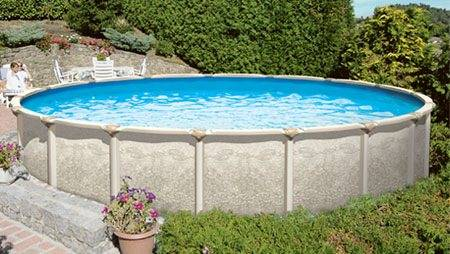 H Amp H Swimming Pools 30 Wide X 52 Quot Tall Resin Molded Above