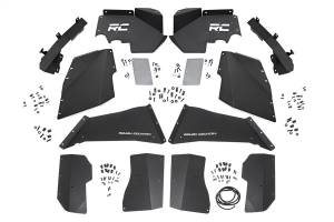 Rough Country - Rough Country 10511 Front & Rear Steel Inner Fenders / Fender Liners Combo