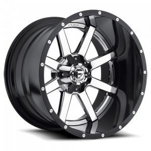 Fuel Off-Road - FUEL D260 Maverick 20x12 Two Piece Wheel