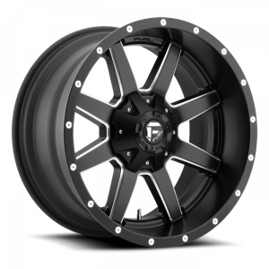 Fuel Off-Road - FUEL UTV D538 Maverick 15x7 One Piece Wheel