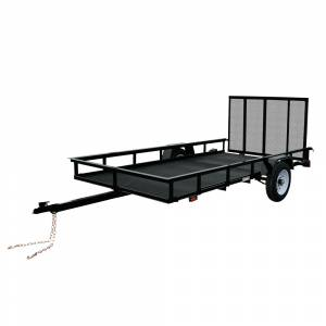 Carry-On Trailers - Carry-On 5x10 Mesh Floor Trailer