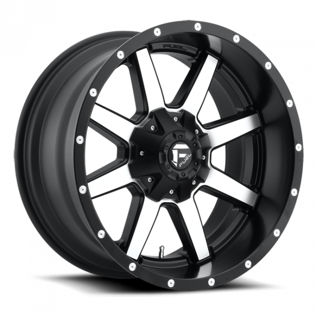 Fuel Off-Road - FUEL D537 Maverick 20x10 One Piece Wheel