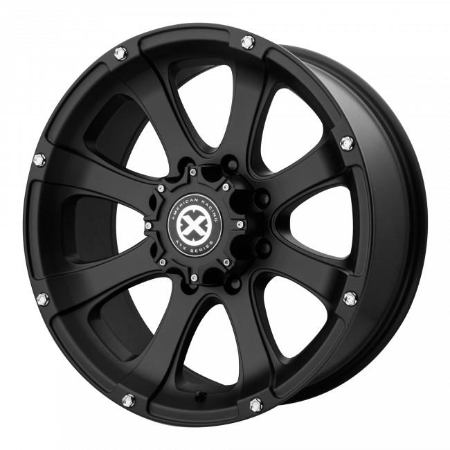 ATX Series - ATX SERIES AX188 LEDGE 17x8 Wheel - Cast Iron Black