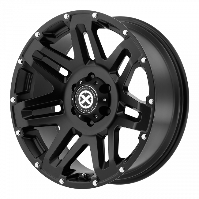 ATX Series - ATX SERIES AX200 YUKON 17x9 Wheel - Cast Iron Black