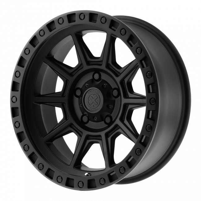 ATX Series - ATX SERIES AX202 17x9 Wheel - Cast Iron Black