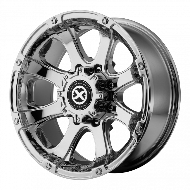 ATX Series - ATX SERIES AX188 LEDGE 17x8 Wheel - Chrome Plated