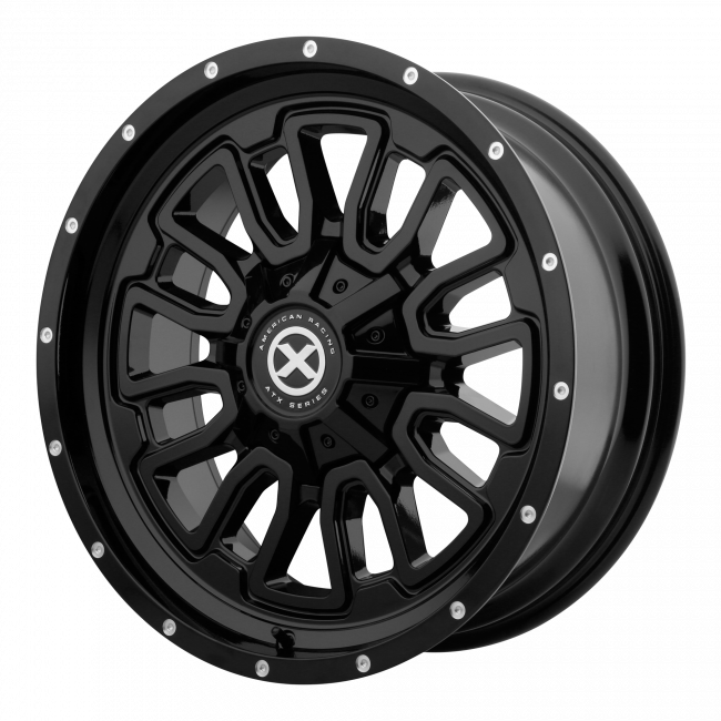ATX Series - ATX SERIES AX203 17x8 Wheel - Gloss Black