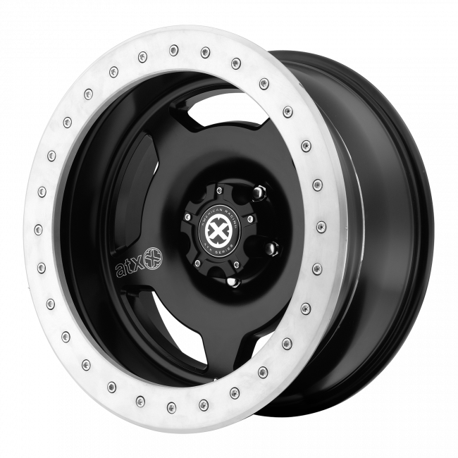 ATX Series - ATX SERIES AX756 SLAB 15x9 Wheel - Satin Black