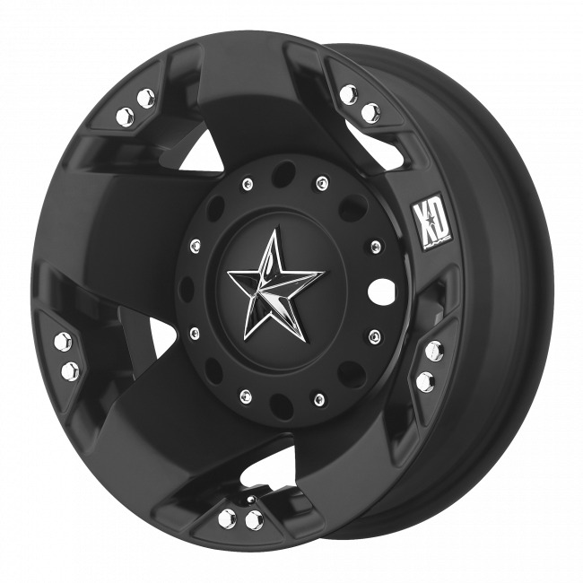 Rockstar Wheels - XD SERIES XD775 ROCKSTAR 16x6 Wheel - Matte Black