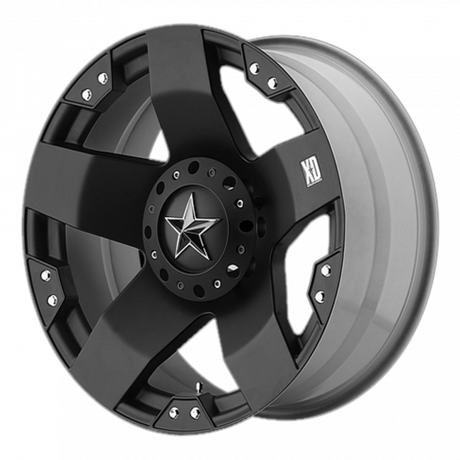 Rockstar Wheels - XD SERIES XD775 ROCKSTAR 17x8 Wheel - Matte Black