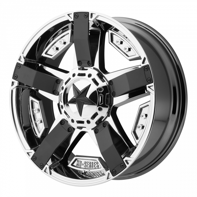 Rockstar Wheels - XD SERIES XD811 ROCKSTAR II 17x8 Wheel - PVD with Matte Black Accents