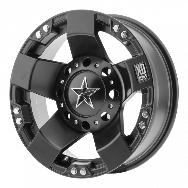 Rockstar Wheels - XD ATV XS775 ROCKSTAR 15x7 Wheel - Satin Black