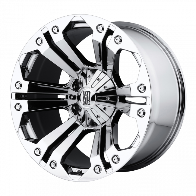 XD Series - XD SERIES XD778 MONSTER 20x10 Wheel - Chrome Plated
