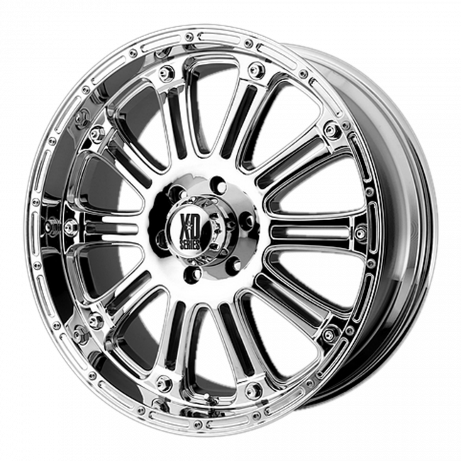 XD Series - XD SERIES XD795 HOSS 22x9.5 Wheel - Chrome Plated