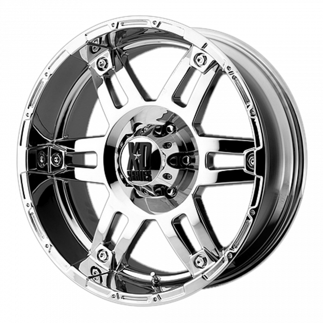 XD Series - XD SERIES XD797 SPY 20x8.5 Wheel - Chrome Plated