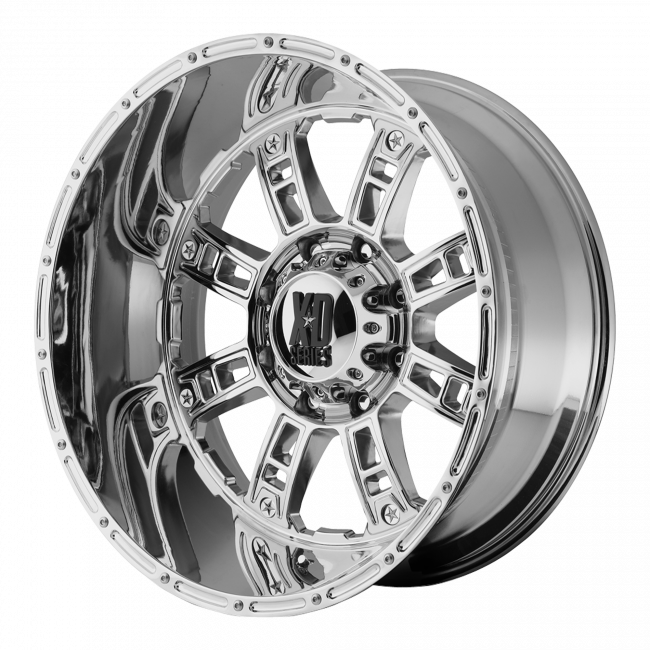XD Series - XD SERIES XD809 RIOT 20x12 Wheel - Chrome Plated