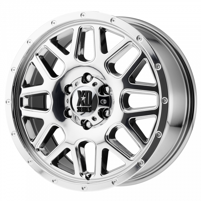 XD Series - XD SERIES XD820 GRENADE 22x12 Wheel - Chrome Plated