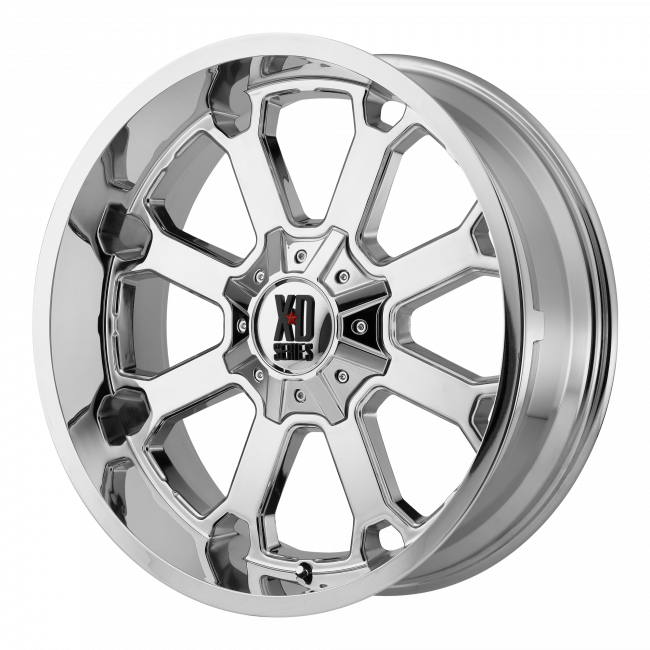 XD Series - XD SERIES XD825 BUCK 25 22x10 Wheel - Chrome Plated