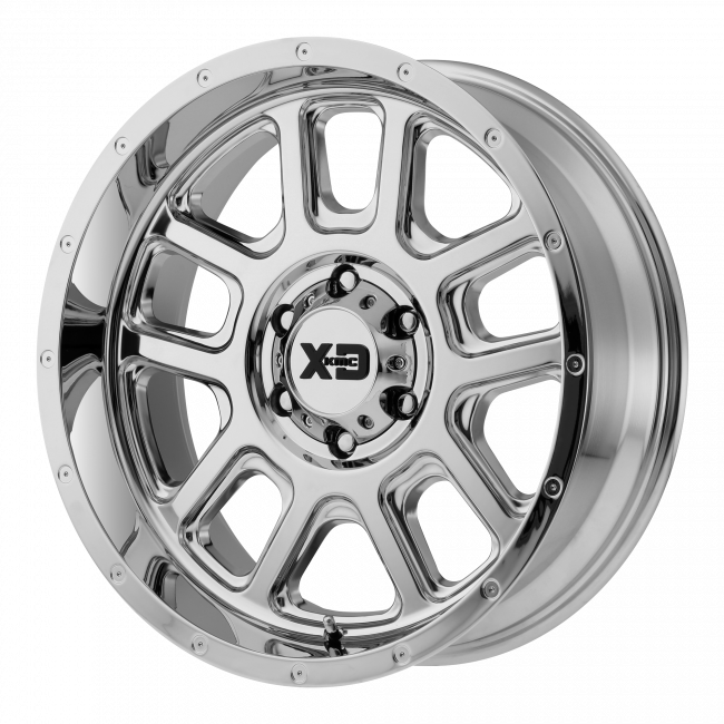 XD Series - XD SERIES XD828 DELTA 20x12 Wheel - Chrome Plated