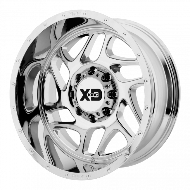 XD Series - XD SERIES XD836 FURY 20x12 Wheel - Chrome Plated