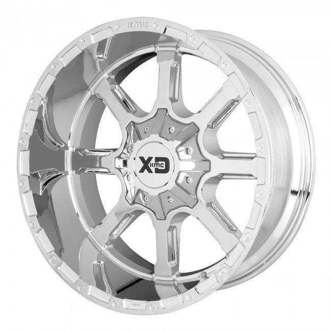XD Series - XD SERIES XD838 MAMMOTH 24x14 Wheel - Chrome Plated