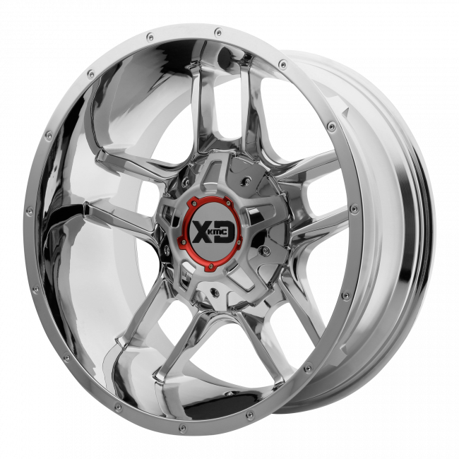XD Series - XD SERIES XD839 CLAMP 20x12 Wheel - Chrome Plated