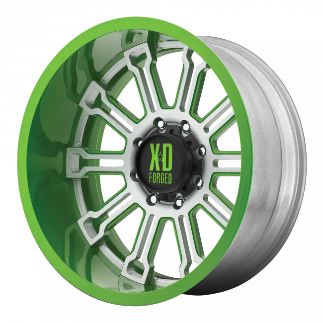 XD Series - XD SERIES XD402 SYNDICATE 24x14 Wheel - Custom 2 Color