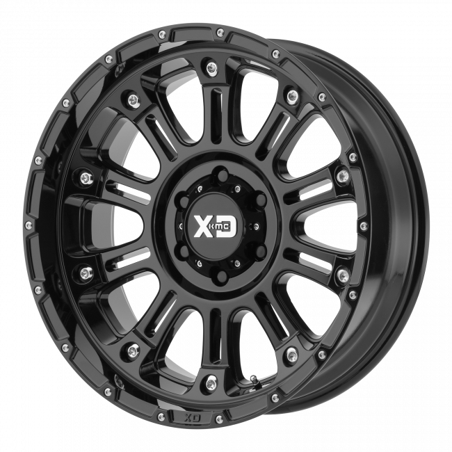 XD Series - XD SERIES XD829 HOSS II 17x9 Wheel - Gloss Black