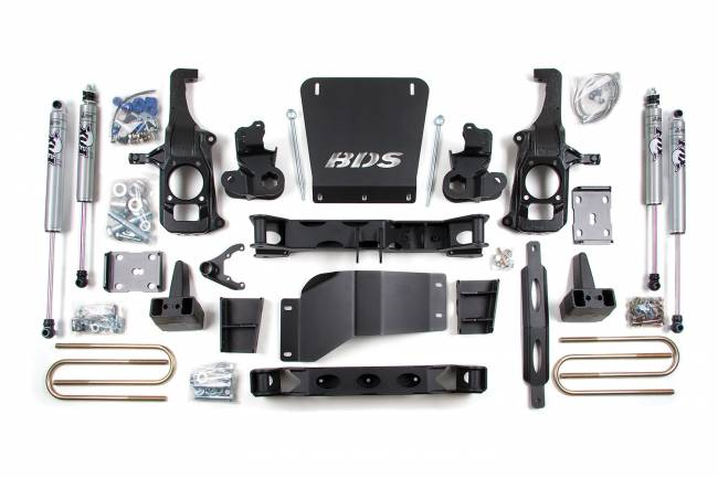BDS Suspension - BDS Suspension BDS196H Suspension Lift Kit