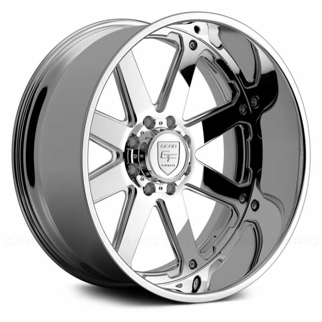 Gear Alloy - Gear Alloy F70P2-2228444-2 F70P2 FORGED 2-PC 22X12 Polished/Machined