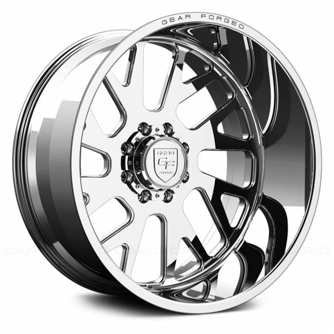 Gear Alloy - Gear Alloy F71P1-2228151R F71P1 FORGED 1-PC DIRECTIONAL 22X12 Polished/Machined
