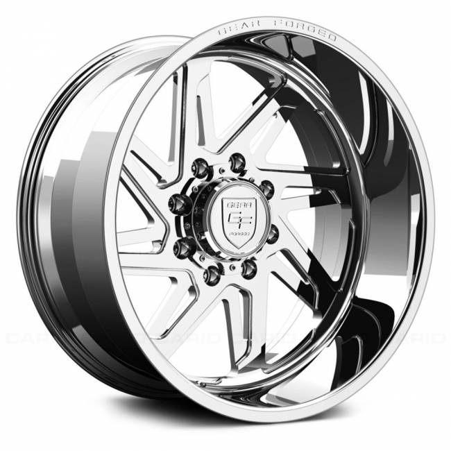 Gear Alloy - Gear Alloy F72P1-2228751L F72P1 FORGED 1-PC DIRECTIONAL 22X12 Polished/Machined