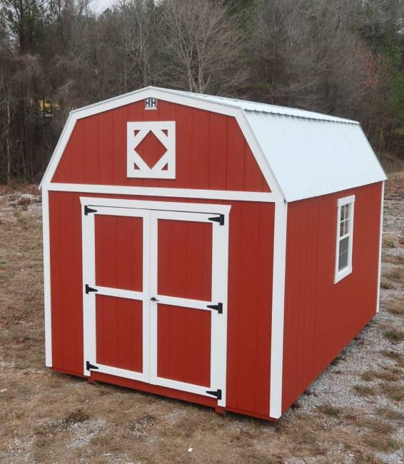 H&H Portable Buildings - H&H Portable Buildings 10x12 Lofted Barn