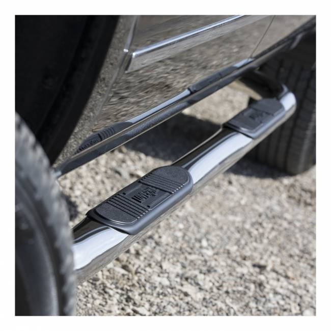 Luverne - Luverne 461413 3 in. Round Nerf Bars