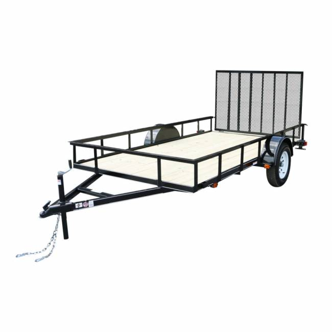 Carry-On Trailers - Carry-On  6x12 Treated Wood Floor Trailer