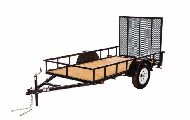 Carry-On Trailers - Carry-On 5x10 Treated Wood Floor Trailer