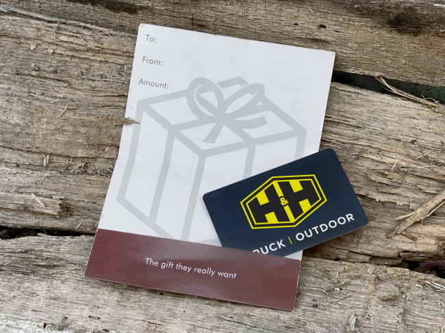 H&H Truck and Outdoor - H&H Truck and Outdoor Gift Card