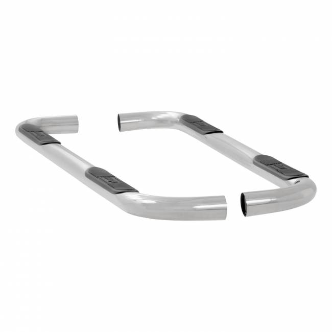 Luverne - Luverne 460463 3 in. Round Nerf Bars