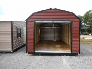 H&H Portable Buildings - Thrifty Aluminum Buildings BTHB12x24 Barn Style Metal Portable Building - Image 2