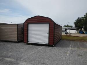 H&H Portable Buildings - Thrifty Aluminum Buildings BTHB12x24 Barn Style Metal Portable Building - Image 4