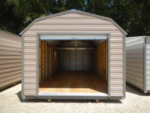 H&H Portable Buildings - Thrifty Aluminum Buildings BTHB12x24 Barn Style Metal Portable Building - Image 5