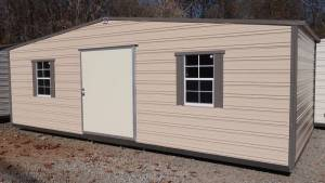 H&H Portable Buildings - Thrifty Aluminum Buildings BTHS10x12 Standard Style Metal Portable Building - Image 4
