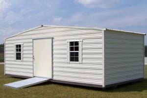 H&H Portable Buildings - Thrifty Aluminum Buildings BTHS10x12 Standard Style Metal Portable Building - Image 5