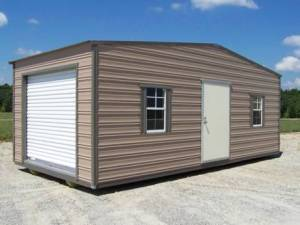 H&H Portable Buildings - Thrifty Aluminum Buildings BTHS10x12 Standard Style Metal Portable Building - Image 6