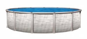 "H&H Swimming Pools - H&H Swimming Pools 24' Wide x 52"" Tall Round Above Ground Pool - Image 1"
